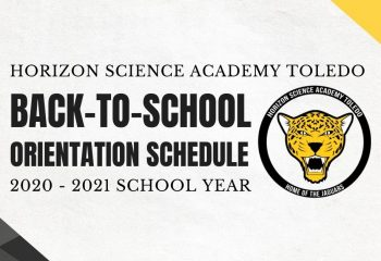 HSAT Back-to-School Orientation Schedule 2020